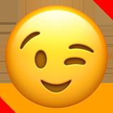 winky smile