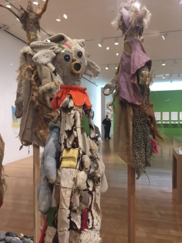Ashley Bryan at the deCordova Sculpture Park and Museum