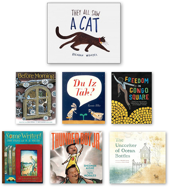 Announcing the 2017 Calling Caldecott winners