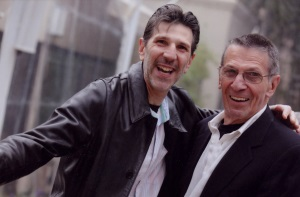 SMALLRichard Michelson and Leonard Nimoy