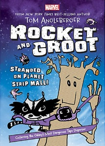 angleberger_rocket and groot stranded at planet strip mall