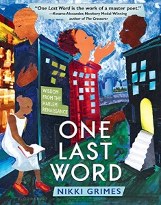One Last Word: Nikki Grimes's 2017 BGHB Poetry & Fiction Honor Speech