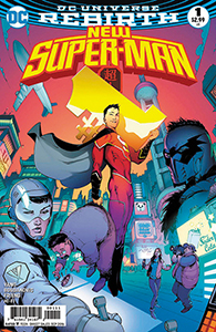 """Chinese Super-Man comic written by Yang."