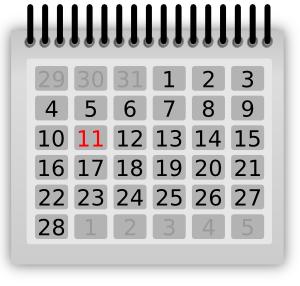 The Caldecott Calendar