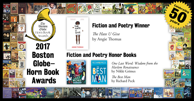 2017 Fiction and Poetry Award winners extras