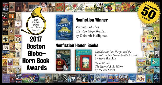 2017 BGHB Nonfiction Award winners extras