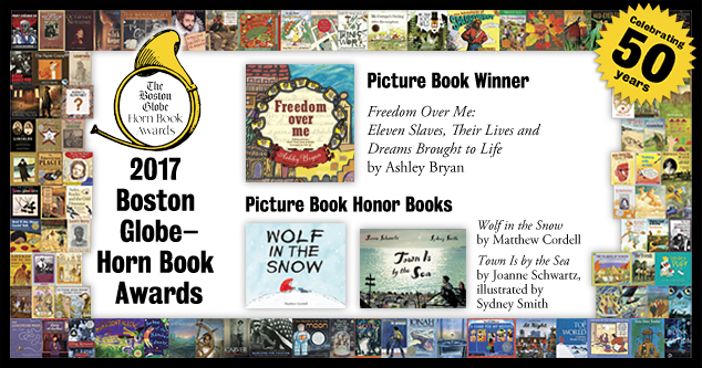 2017 BGHB Picture Book Award winners extras