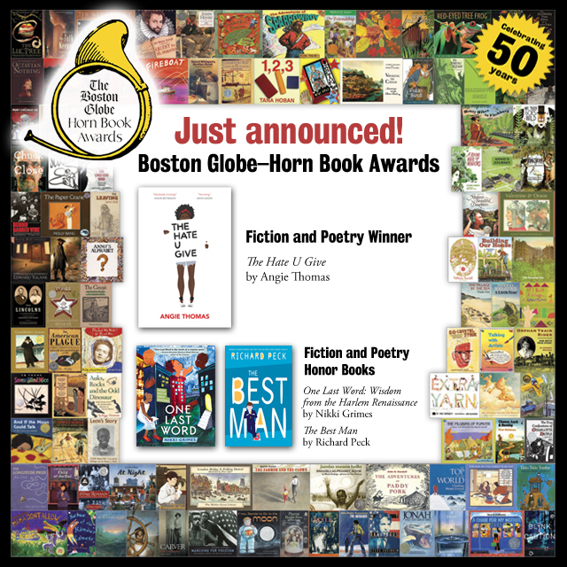 Reviews of the 2017 Boston Globe–Horn Book Fiction and Poetry Award Winner and Honor Books