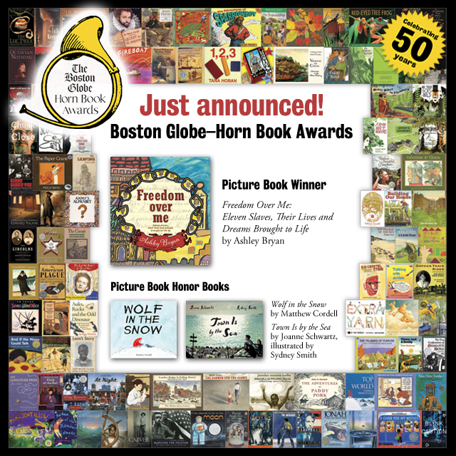 Reviews of 2017 Boston Globe–Horn Book Picture Book Award Winner and Honor Books