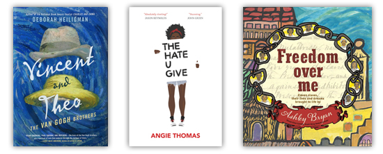 2017 Boston Globe-Horn Book Award honor books