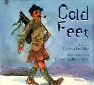 BGHB at 50: Cold Feet by Cynthia DeFelice, illus. by Robert Andrew Parker