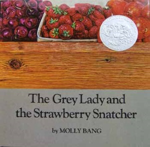 BGHB at 50: Seeing the Grey: Reading Molly Bang's The Grey Lady and the Strawberry Snatcher with Children