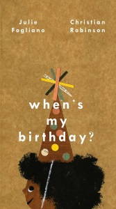 When's My Birthday?: Illustrator Christian Robinson's 2018 BGHB Picture Book Honor Speech