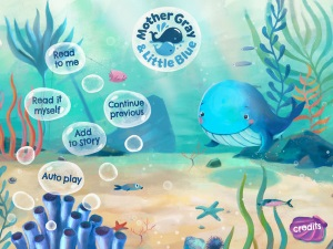 Mother Gray and Little Blue app review