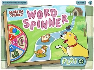 Martha Speaks Word Spinner app review