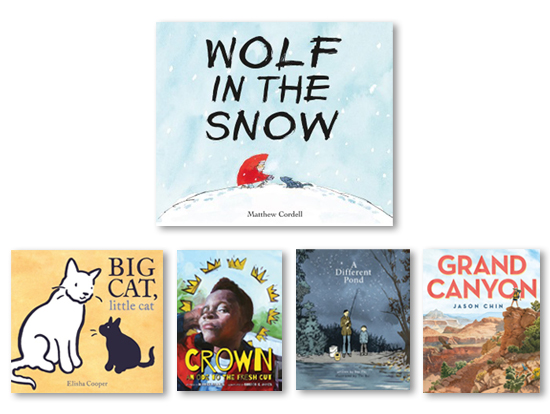 The 2018 Caldecott Winners