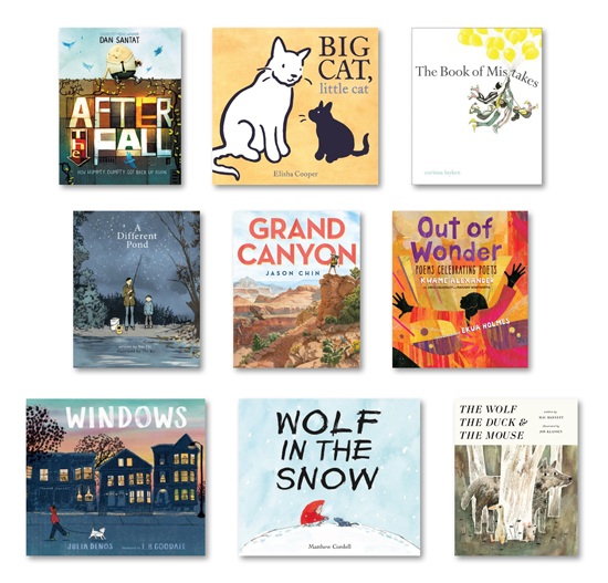 Calling Caldecott 2018 ballot #2 now open