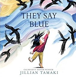 They Say Blue: Jillian Tamaki's 2018 BGHB Picture Book Award Speech