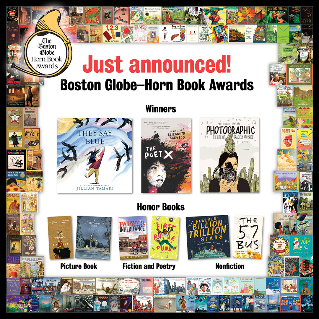 Presenting the 2018 Boston Globe–Horn Book Award winners