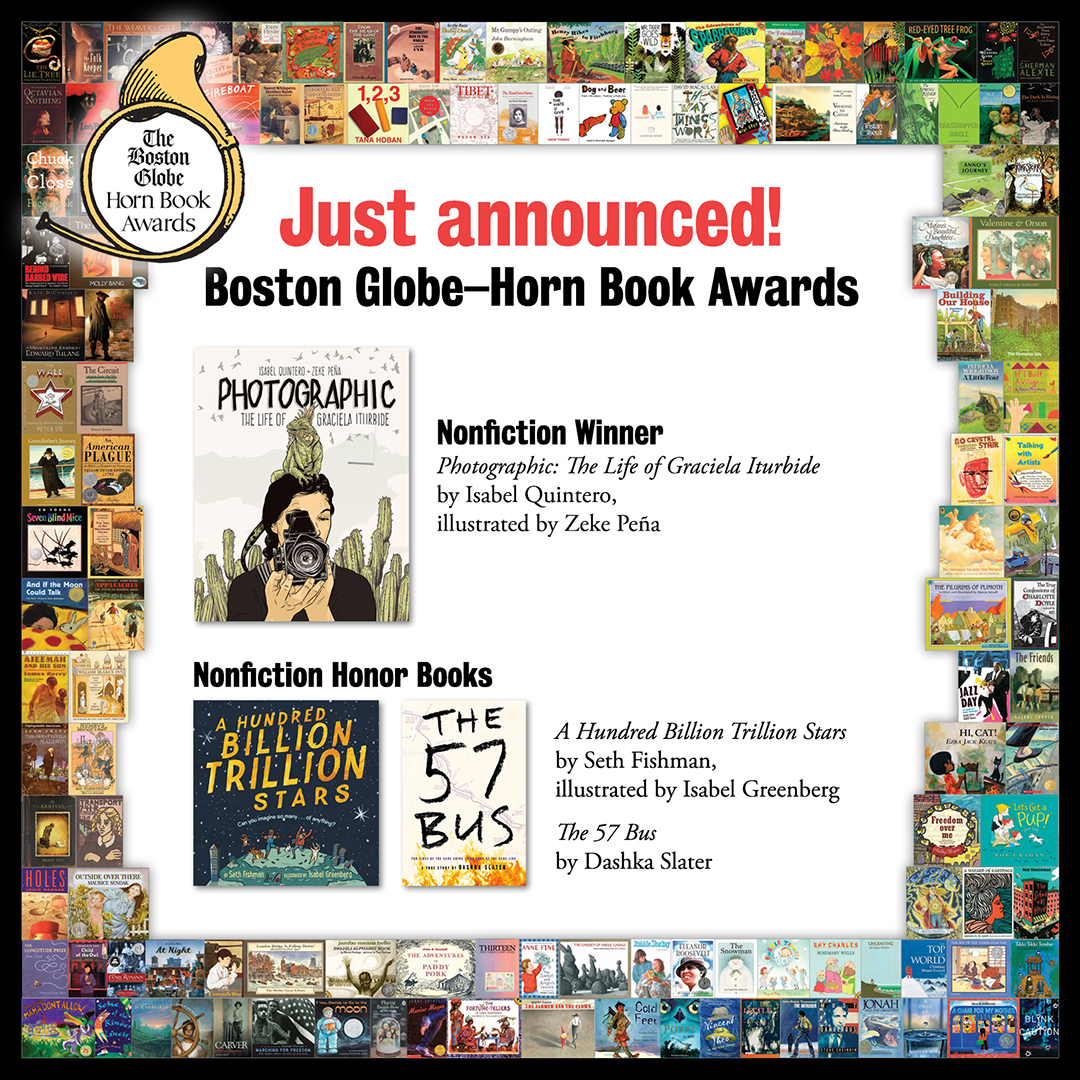 Reviews of the 2018 Boston Globe–Horn Book Nonfiction Award Winner and Honor Books