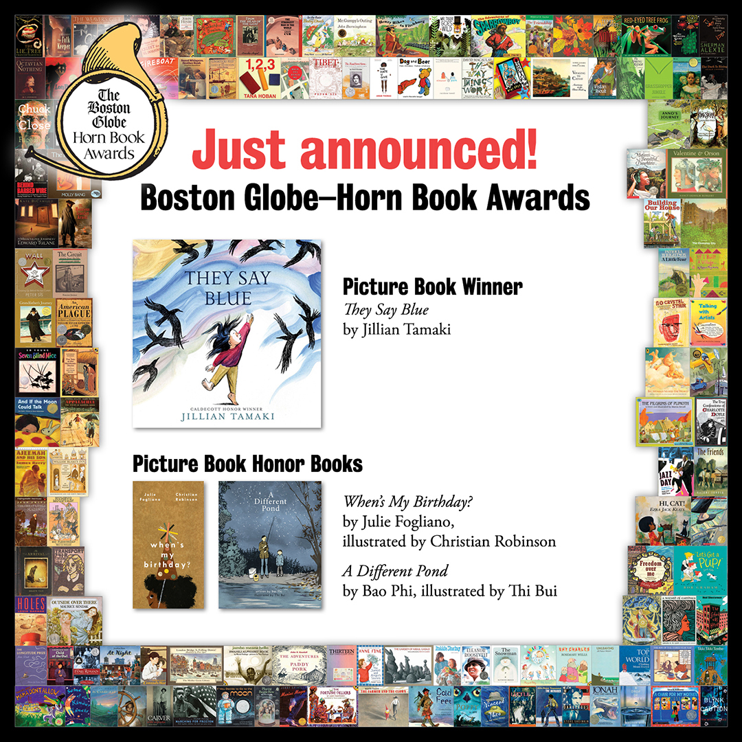 Reviews of 2018 Boston Globe–Horn Book Picture Book Award Winner and Honor Books