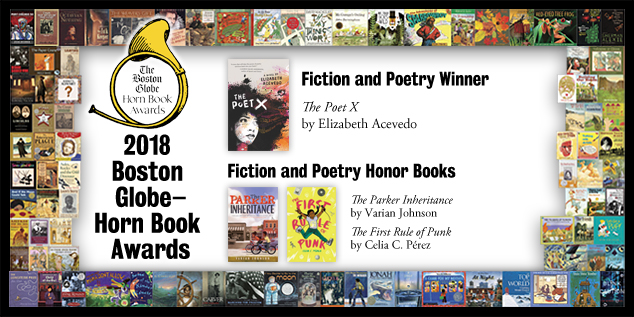 2018 BGHB Fiction and Poetry Award winners extras