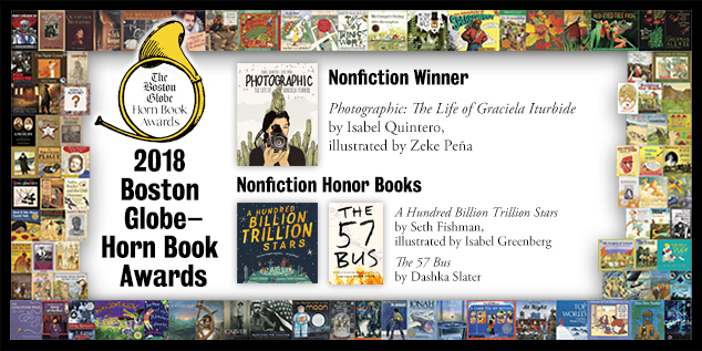 2018 BGHB Nonfiction Award winners extras