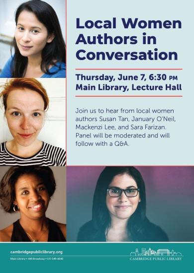 Local Women Authors in Conversation at the Cambridge Public Library