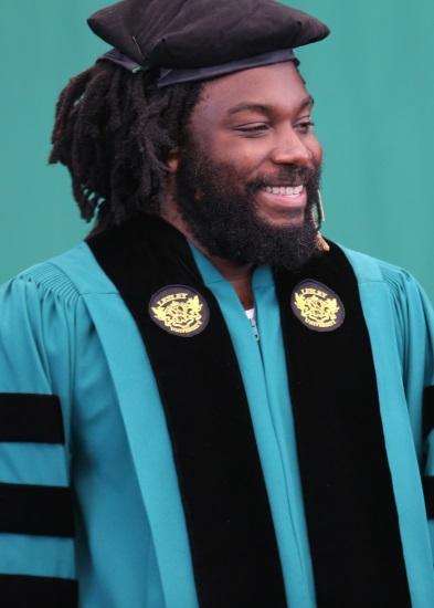Jason Reynolds's 2018 Lesley University commencement speech