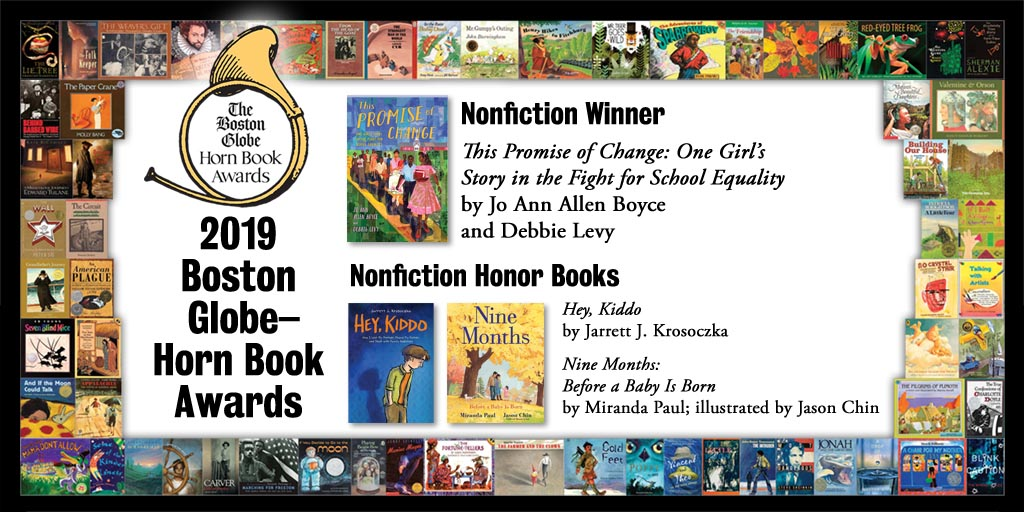 2019 BGHB Nonfiction Award winners extras