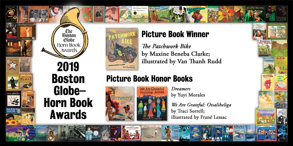 Reviews of 2019 Boston Globe–Horn Book Picture Book Award Winner and Honor Books