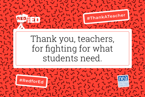 Thank a teacher 2019