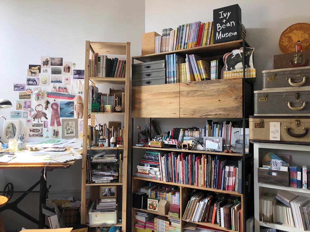 Hello Studio: A Profile of 2019 Caldecott Medal winner Sophie Blackall