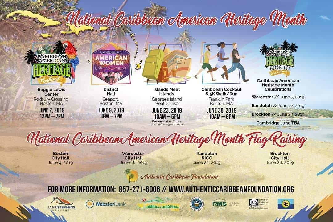 National Caribbean American Heritage Month 2019