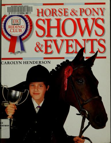 Horse and Pony Shows and Events
