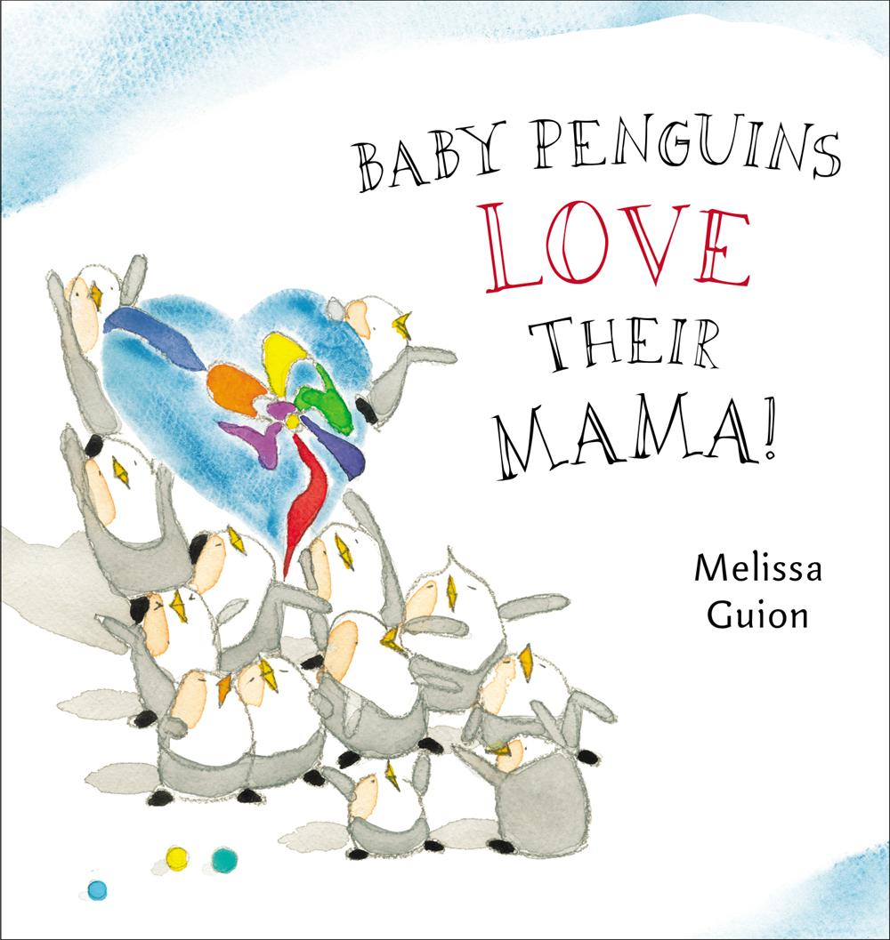 Baby Penguins Love Their Mama!