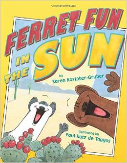 Ferret Fun in the Sun
