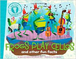 Frogs Play Cellos