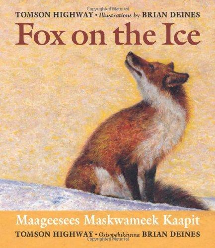 Fox on the Ice / Maageesees Maskwameek Kaapit