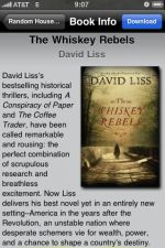 David Liss The Whiskey Rebels