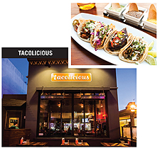 Exterior photo by Aubrie Pick; food photo by Erin Kunkel