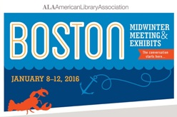American Library Association Midwinter 2016 sign