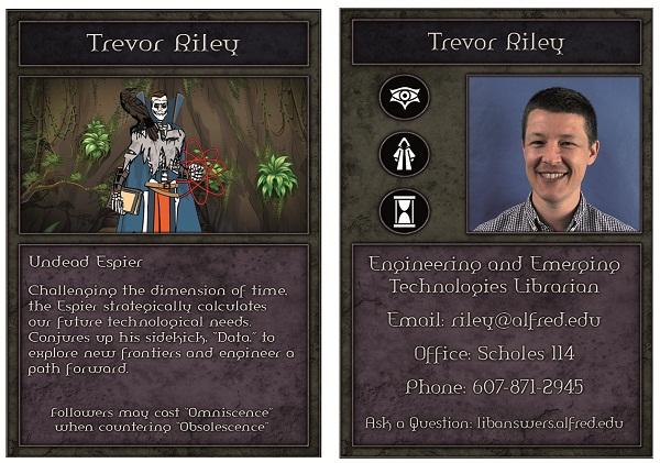 Emerging tech librarian as Undead Espier