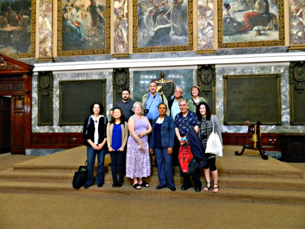 Librarians in Cuban visit group