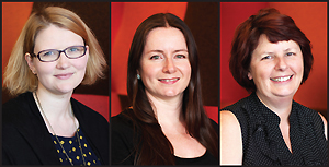 Kate Byrne, Alyson Dalby, Clare McKenzie