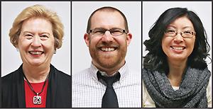 Ann Carlson Weeks, Jeffrey DiScala, Christie Kodama
