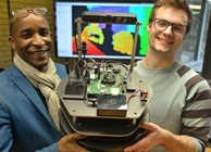 Pasi William Sachiti, Ariel Ladegaard, prototype robot