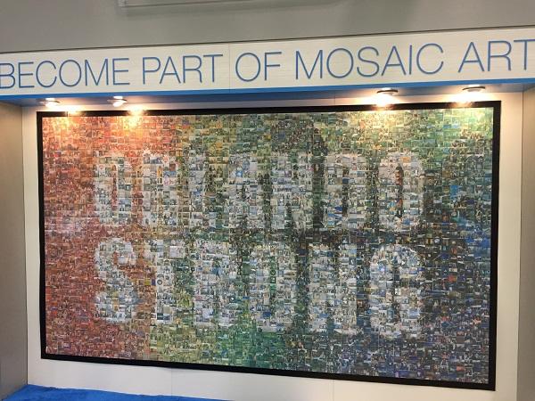 Gale Orlando Strong photo mosaic