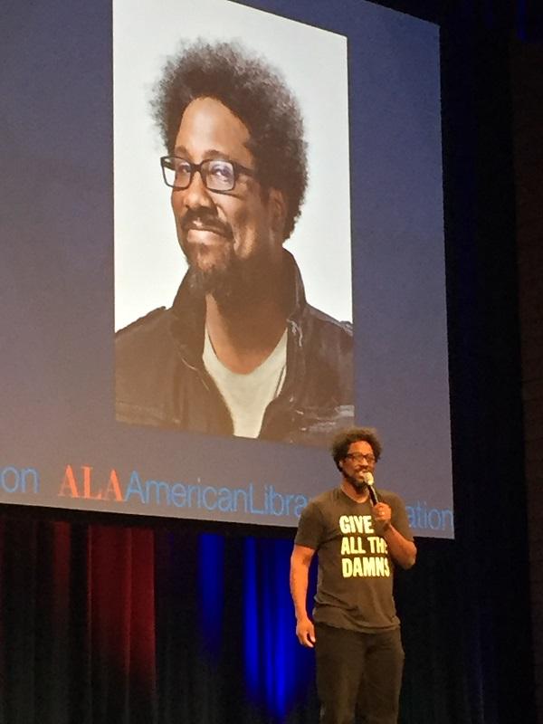 Keynote speaker Kamau Bell Photo credit: Meredith Schwartz