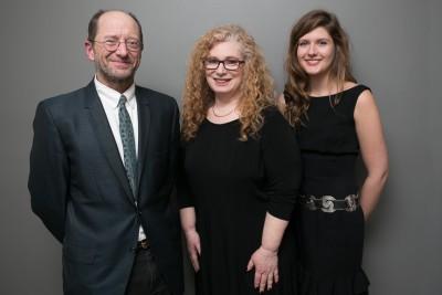 2017 Story Prize finalists (l-r): Rick Bass, Helen Maryles Shankman, Anna Noyes